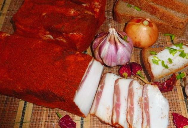 Шпик венгерский — рецепт приготовления в домашних условиях